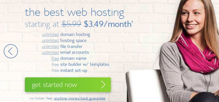 BlueHost Offers a Free Domain and Flat 40% Discount on Hosting till Jan 31