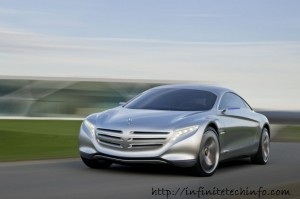 Mercedes Self Driving Car F015