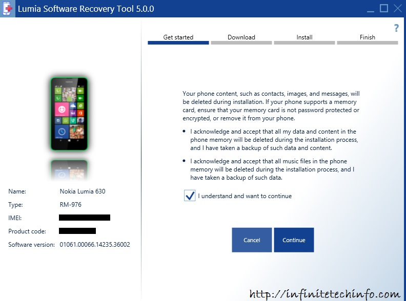Lumia Recovery Software Tool