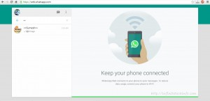 WhatsApp Access from Desktop