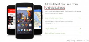 Android 1 lollipop