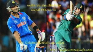 ICC CRICKET WORLD CUP 2015- India Vs South Africa