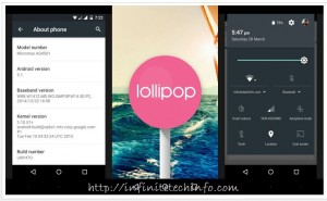Lollipop 5.1 Update in Android One Smartphones