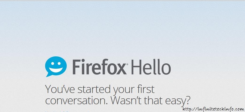 Mozilla Firefox Free Video Calling