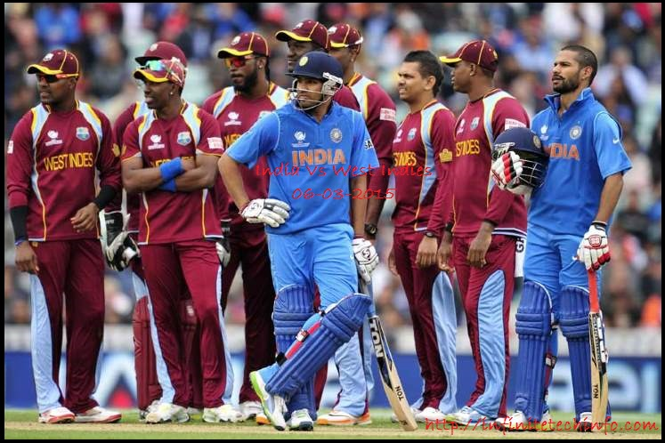 India Vs Westindies Friday 06-03-2015