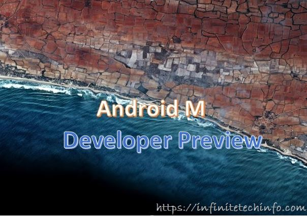 Android M Developer Preview Image