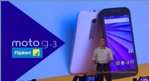 Motorola Moto G 3rd Generation in India