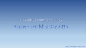 Happy Friendship Day 2015