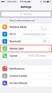 Personal Hotspot Problem in Iphone 5s