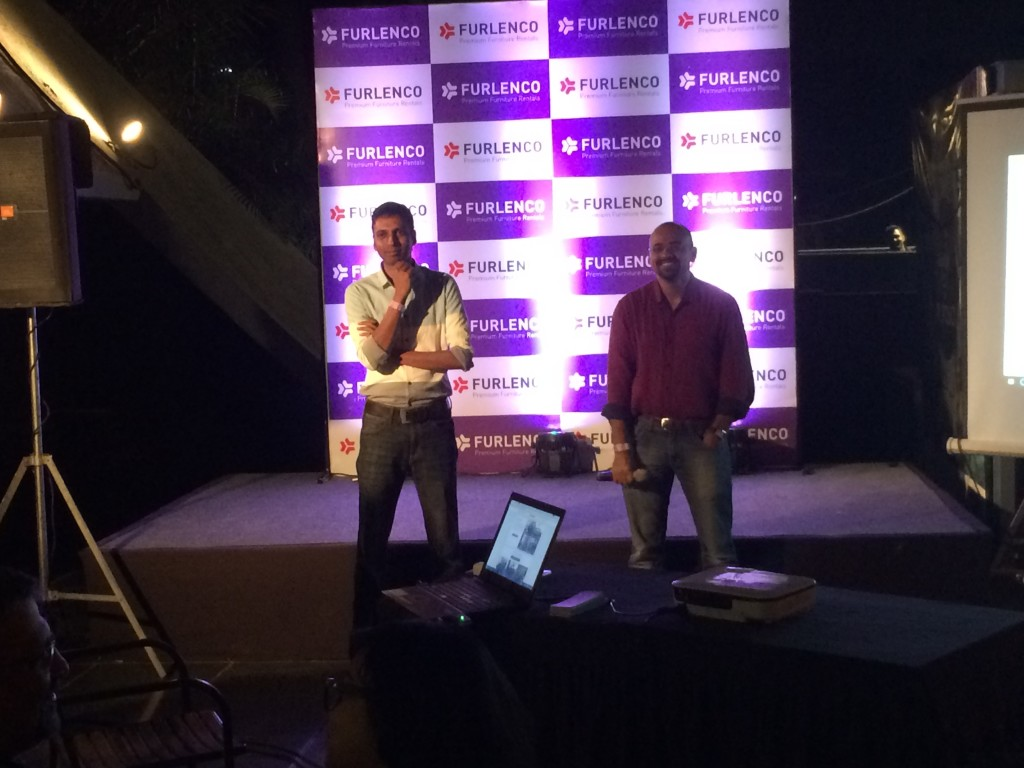 Furlenco Launch event in Pune