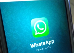 WhatsApp iphone logo