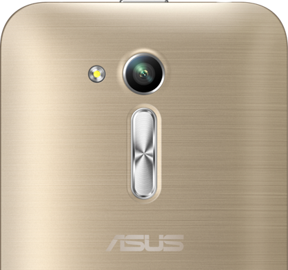 Metallic hairline finish in the ASUS Zenfone Go 4.5 2nd generation