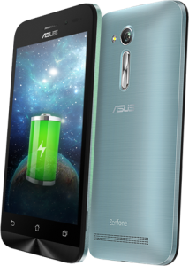 2,070 mAh high capacity battery on the ASUS Zenfone Go 4.5 2nd generation