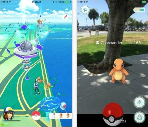 Pokemon go game for iphone