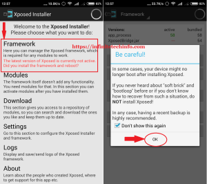 Xposed Installer Framework for Android
