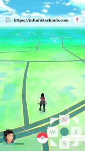 Pokemon Go Controls Joystick