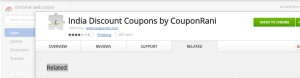 Couponrani Chrome Extension
