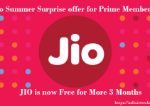 JIO Prime Membership Complimentry Services for 3 Months