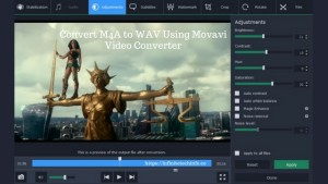 How To Convert M4A to WAV Using Movavi Video Converter