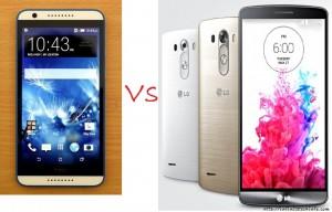 HTC Desire 820 Vs LG G3