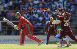 West Indies Vs Zimbabwe world cup 2015