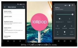 Lollipop 5.1 Update in Android One Smartphones