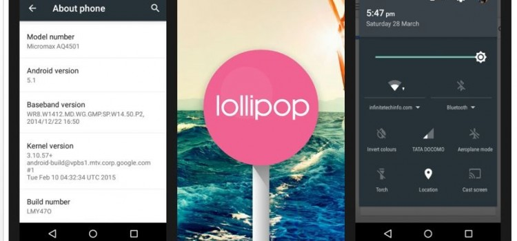 Review of Lollipop 5.1 Update on Android One Smartphones