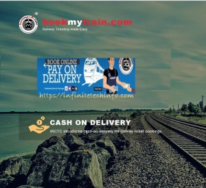 Now Book your travel on Cash on Delivery (COD).