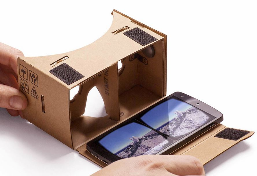 Google CardBoard - Virtual Reality (VR)