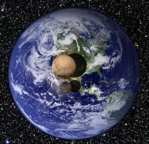 Pluto New Horizon Probe Flyby