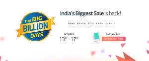 Flipkart Big Billion Days mobile sales and offers