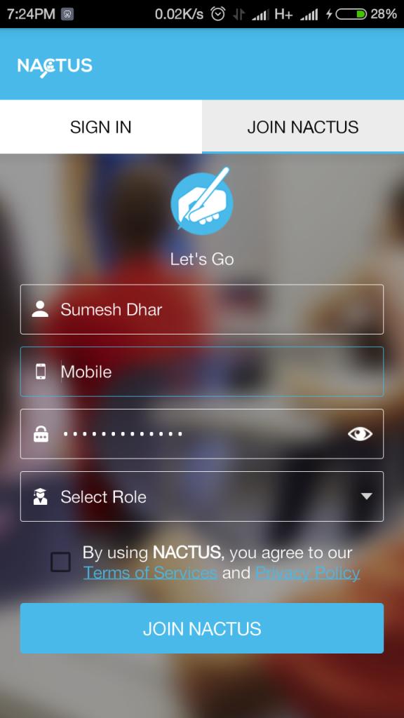 Nactus App