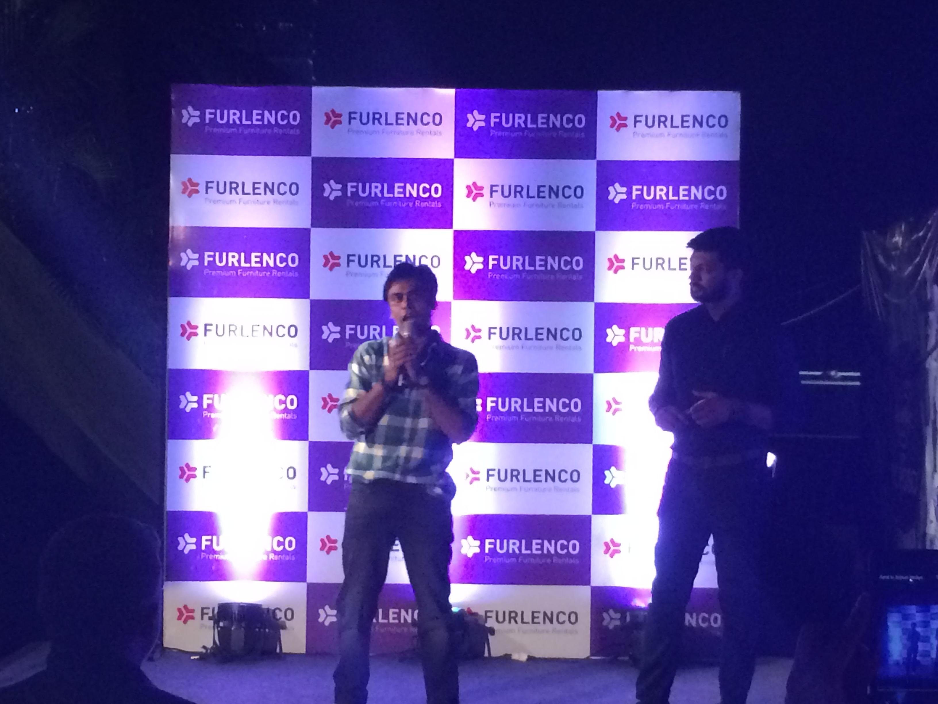 Jeetu in Furlenco Launch Event in Pune