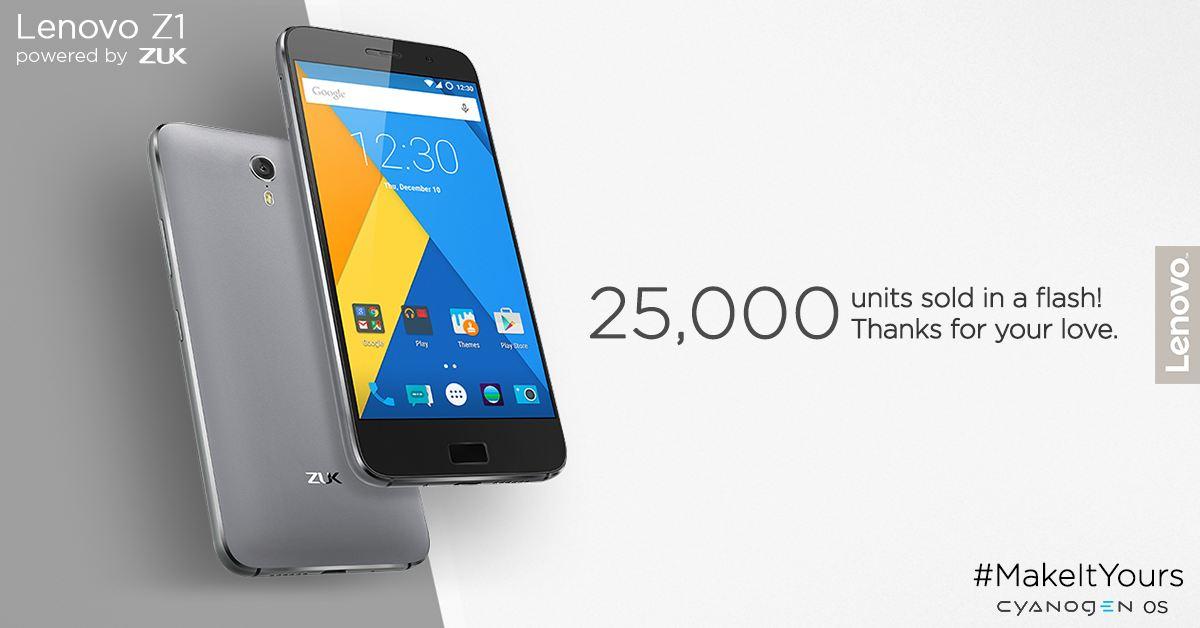 Lenovo Zuk Z1 Sale