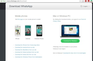 WhatsApp Desktop App for Windows and MAC