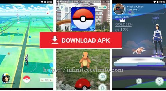Pokemon go game apk download