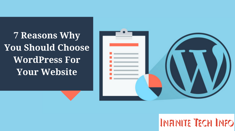 7 Reasons Why You Should Choose WordPress For Your Blog.