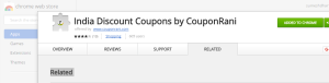 coupon rani chrome extension