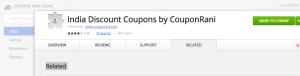 coupon rani chrome extension