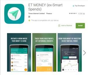 ET Money (SmartSpends) Review - The Money Manage