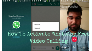 How To Activate WhatsApp Video Calling