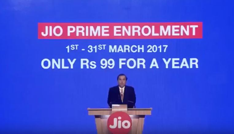 JIO Prime Membership Offers