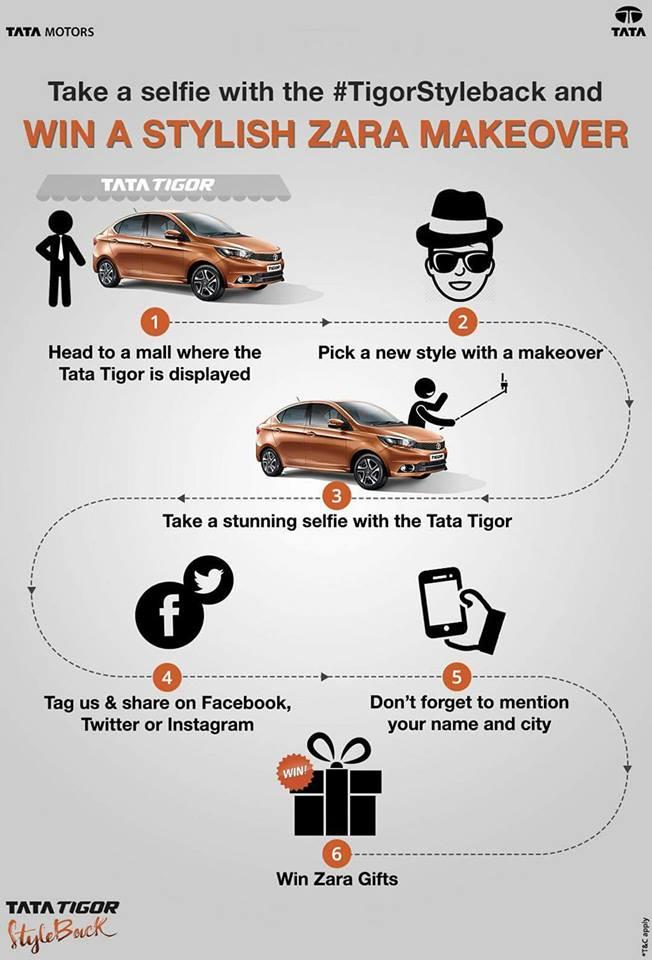 Tata Tigor Selfie Contest