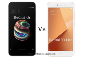 Redmi 5A Vs Redmi Y1 Lite