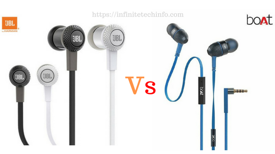 3b13f0dcfec JBL vs BoAt: Which earphones are the best | InfiniteTechinfo