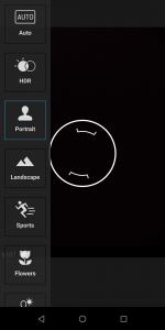 Asus Zenfone Max Pro M1 Camera UI